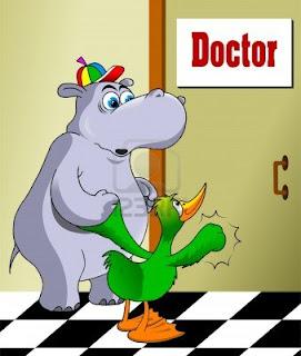 Fabula el Hipopótamo Hipocondríaco