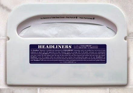 HeadLiners Toilet Seat Covers by CALLAHEAD