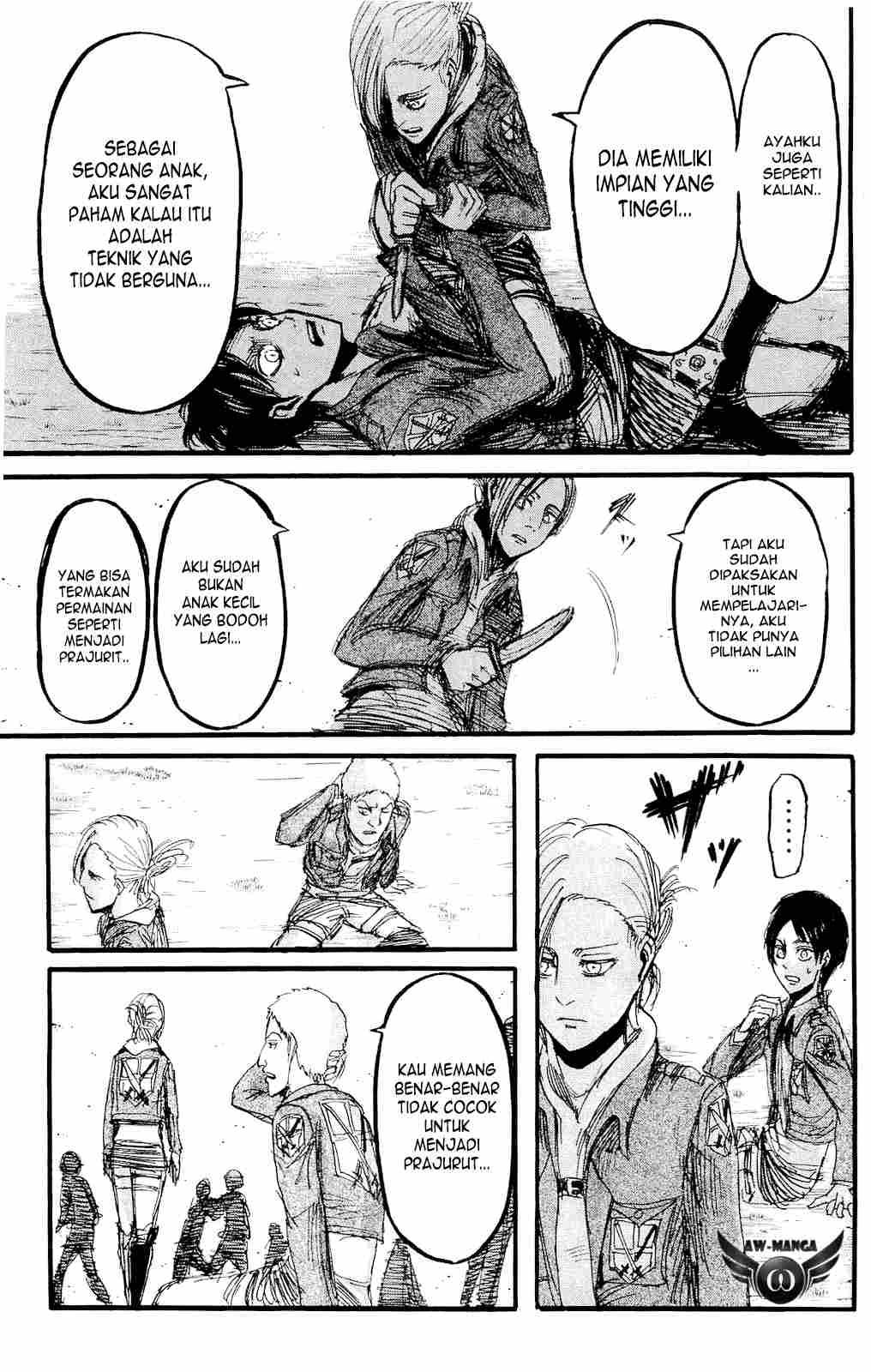 Komik shingeki no kyojin 017 - ilusi dari kekuatan 18 Indonesia shingeki no kyojin 017 - ilusi dari kekuatan Terbaru 21|Baca Manga Komik Indonesia|