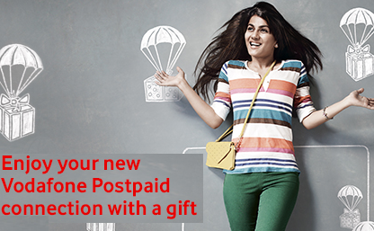 Vodafone get rewarded offer : Get Gifts for Vodafone Connection
