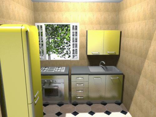 dapur kecil minimalis 2 x 3