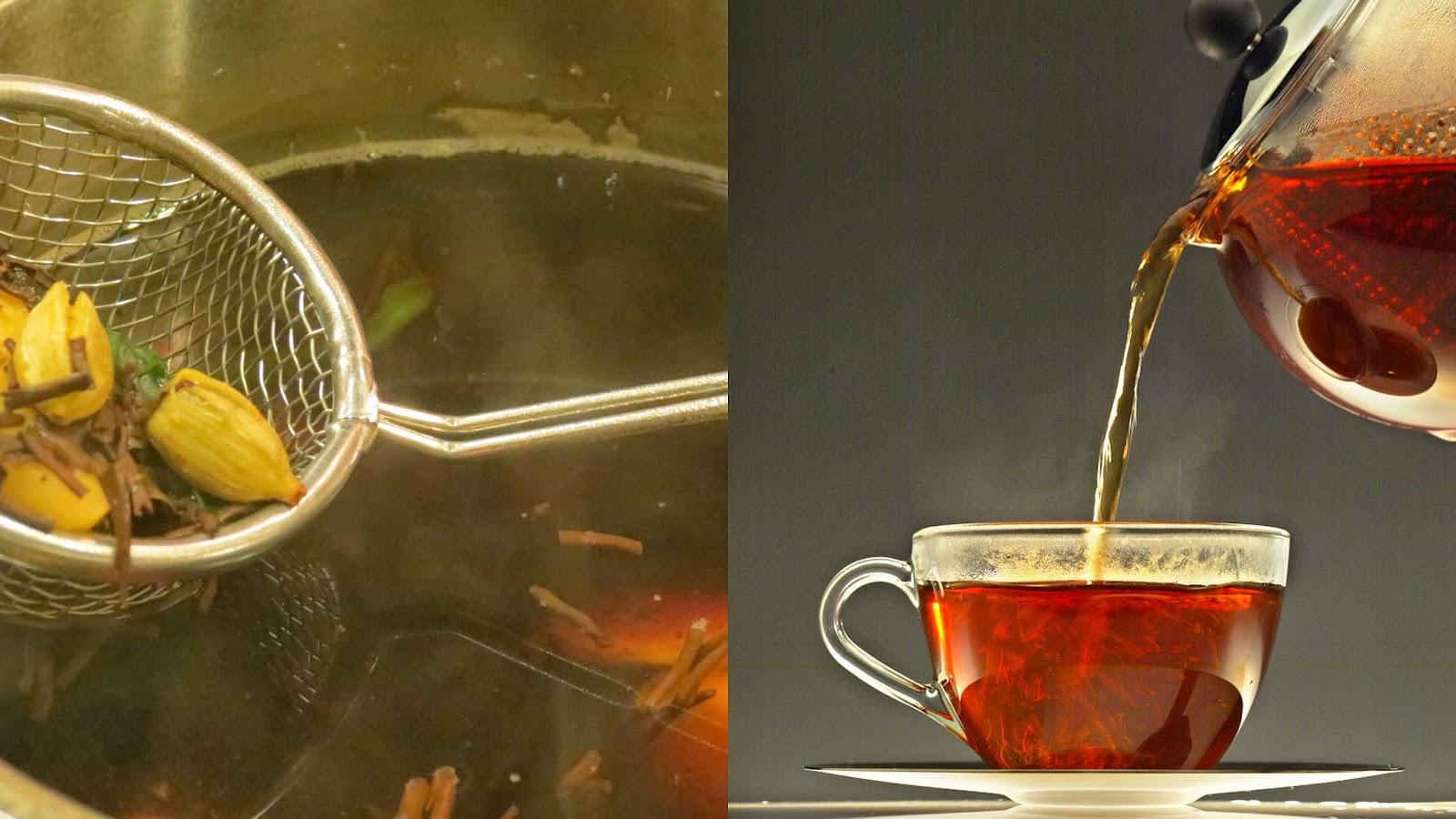 Cardamom Flavor in Tea