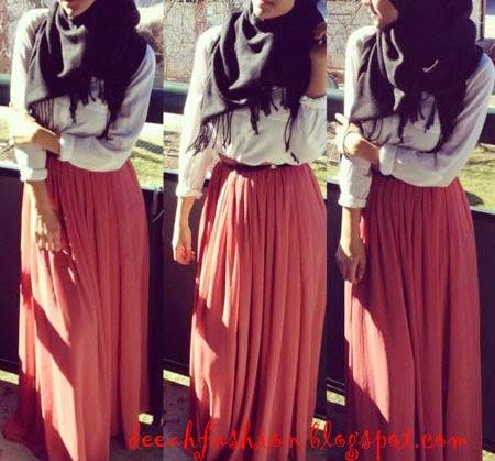 Chic Dengan Jilbab Chic Hijab Style