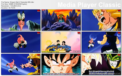 Film Anime Dragon Ball Z Majin Buu Saga Episode 280 Bahasa Indonesia