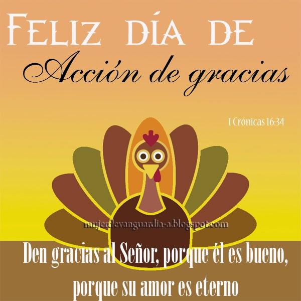 Feliz Dia De Pavo >> Feliz día de Acción de Gracias | Imágenes con frases