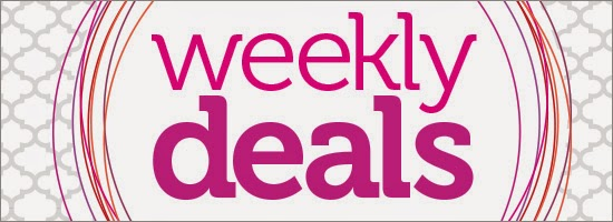 Starting 2 April, Stampin' Up! is offering us new deals every week in April!