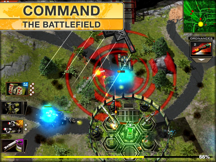 Modern Command Main Game App