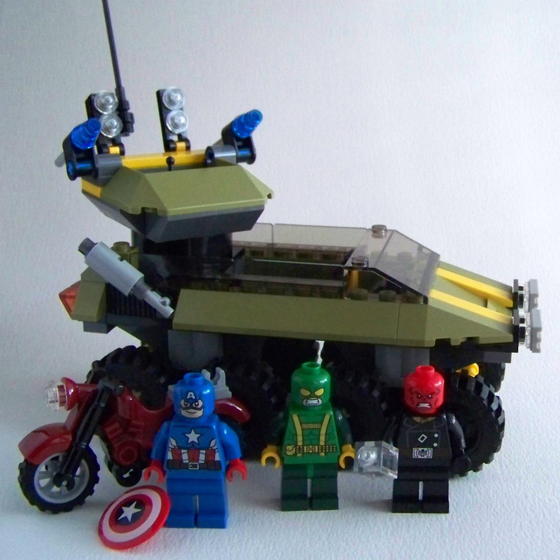 LEGO Red Skull Hydra