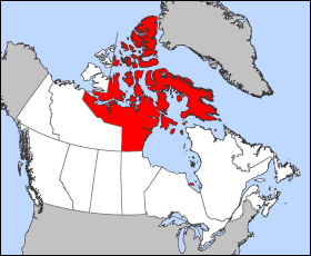 north territory of nunavut canada for the first time nunavut became a