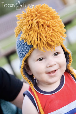 free crochet pattern faux-hawk mohawk hat