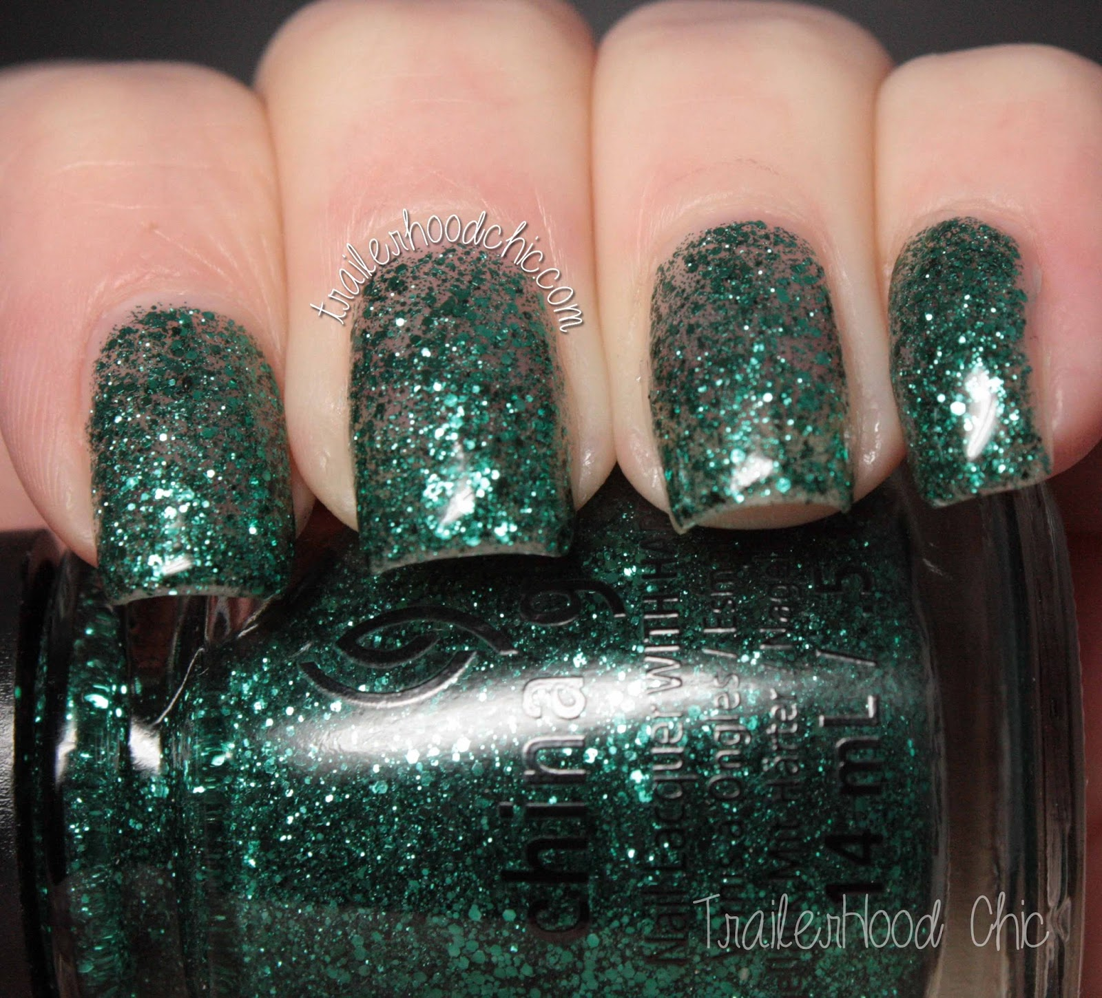china glaze twinkle swatches pineing for glitter