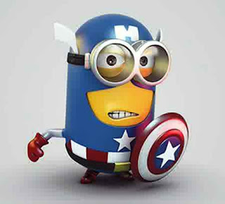 Gambar Animasi Minion Despicable Me 7