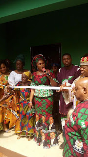 Superb: Governor Obiano's Wife Gives Out Houses To Anambra Widows (Photos)