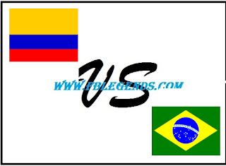 مشاهدة مباراة البرازيل وكولمبيا بث مباشر اليوم 18-6-2015 اون لاين كوبا أمريكا 2015 يوتيوب لايف brazil vs colombia