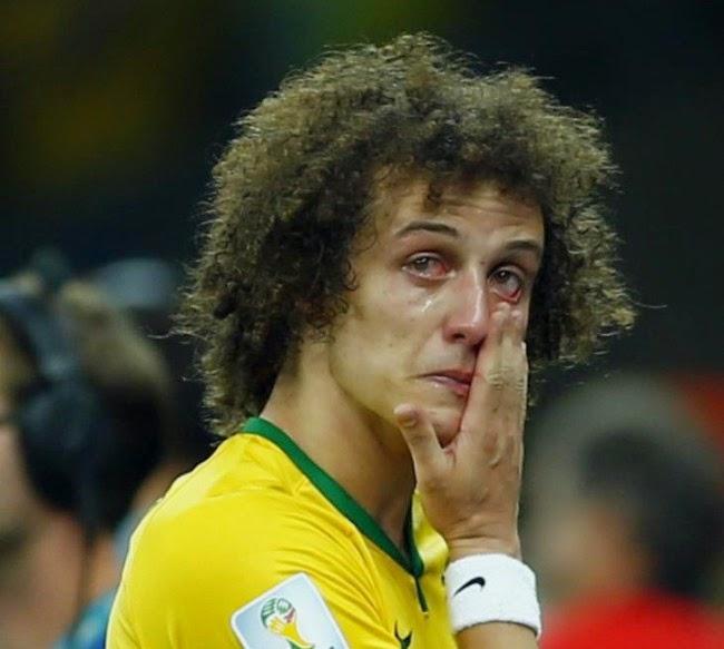 Lawak ker Bila reaksi David Luiz diterjemahkan ke Bahasa Inggeris