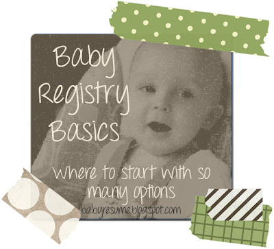 Baby Registry Basics - Where to Start with So Many Options