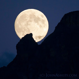 August Blue Moon (c) John Ashley