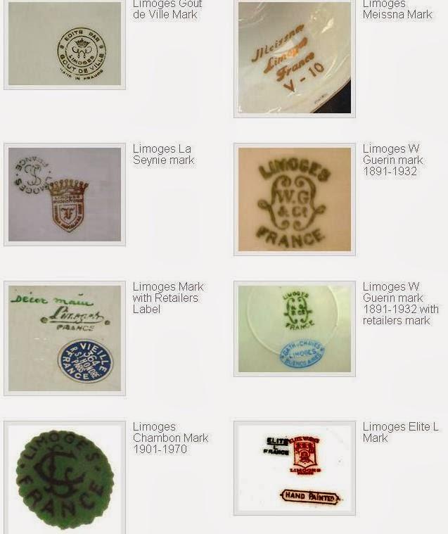 My Antique World: Antique Limoges porcelain