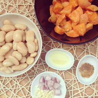 purée abricots haricots