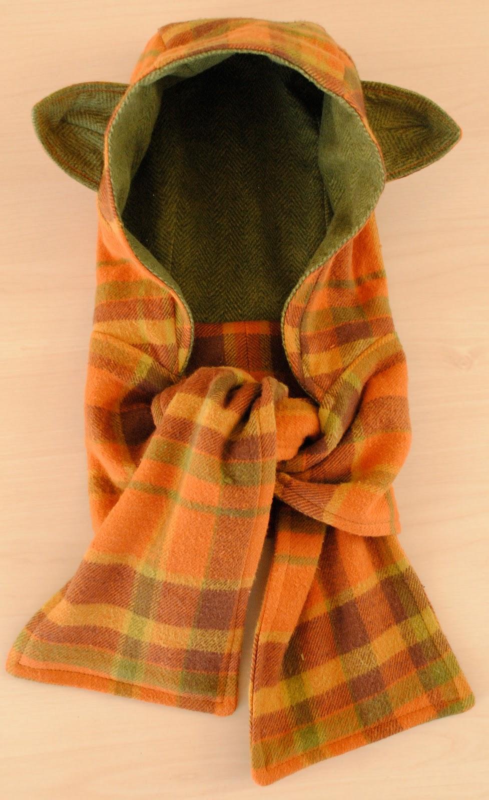 Hoody scarf