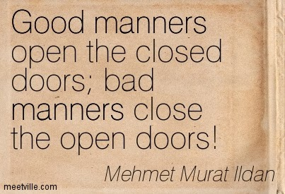 Quotes About Bad Manners