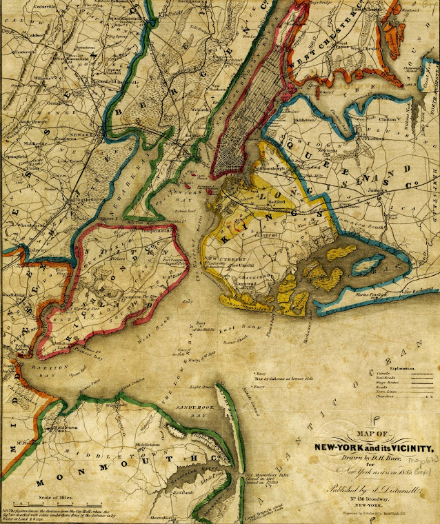 1816 Map of Brooklyn