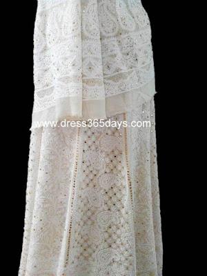 Chikankari Embroidered Lehenga