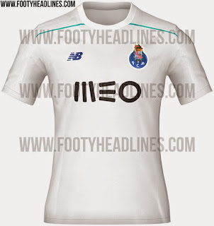 bocoran jersey Fc Porto third terbaru musim depan 2015/2016