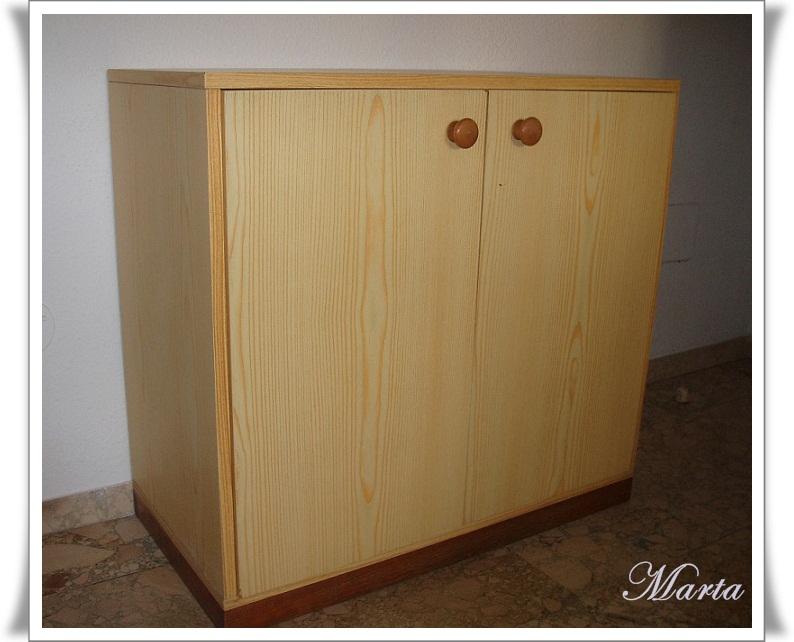 Las manualidades de marta mesa con decoupage - Muebles de cocina reciclados ...