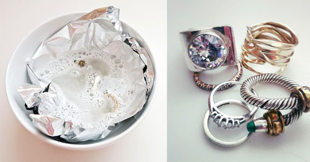 Make Grimy Jewelry Sparkle Like New With A Few Things Right From Your Home
