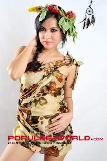 Foto Kinara di Majalah Popular BFN 2013