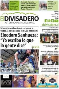 23/01/2020  PRIMERA PÁGINA DE EL DIVISADERO    DE CHILE
