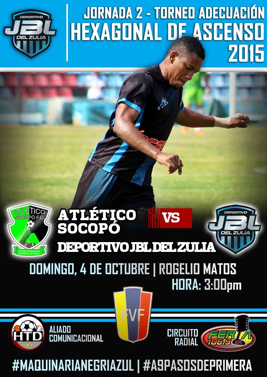 J2 Hexagonal Victoria de Atlético Socopó 1-0