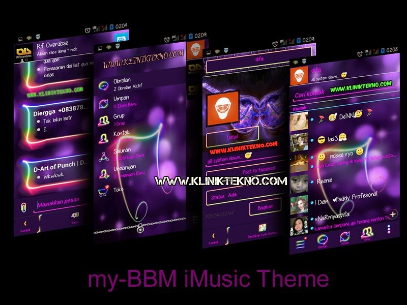 my-BBM i-Music like i-music Go-sms Pro Theme v.2.7.0.23