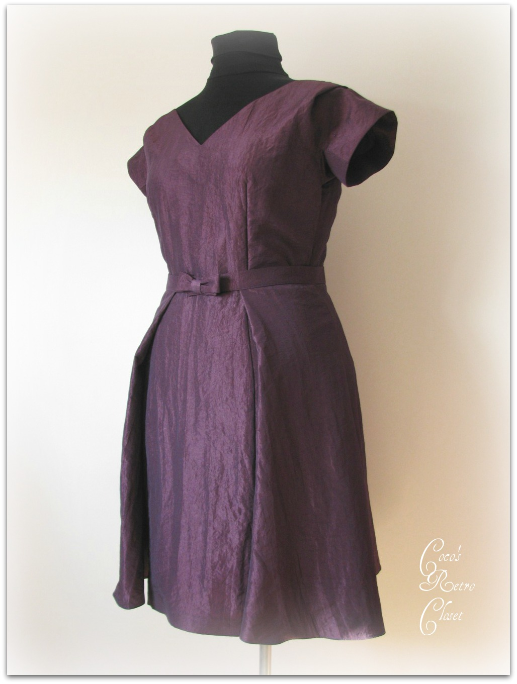 Violet Cocktail Dresses 26