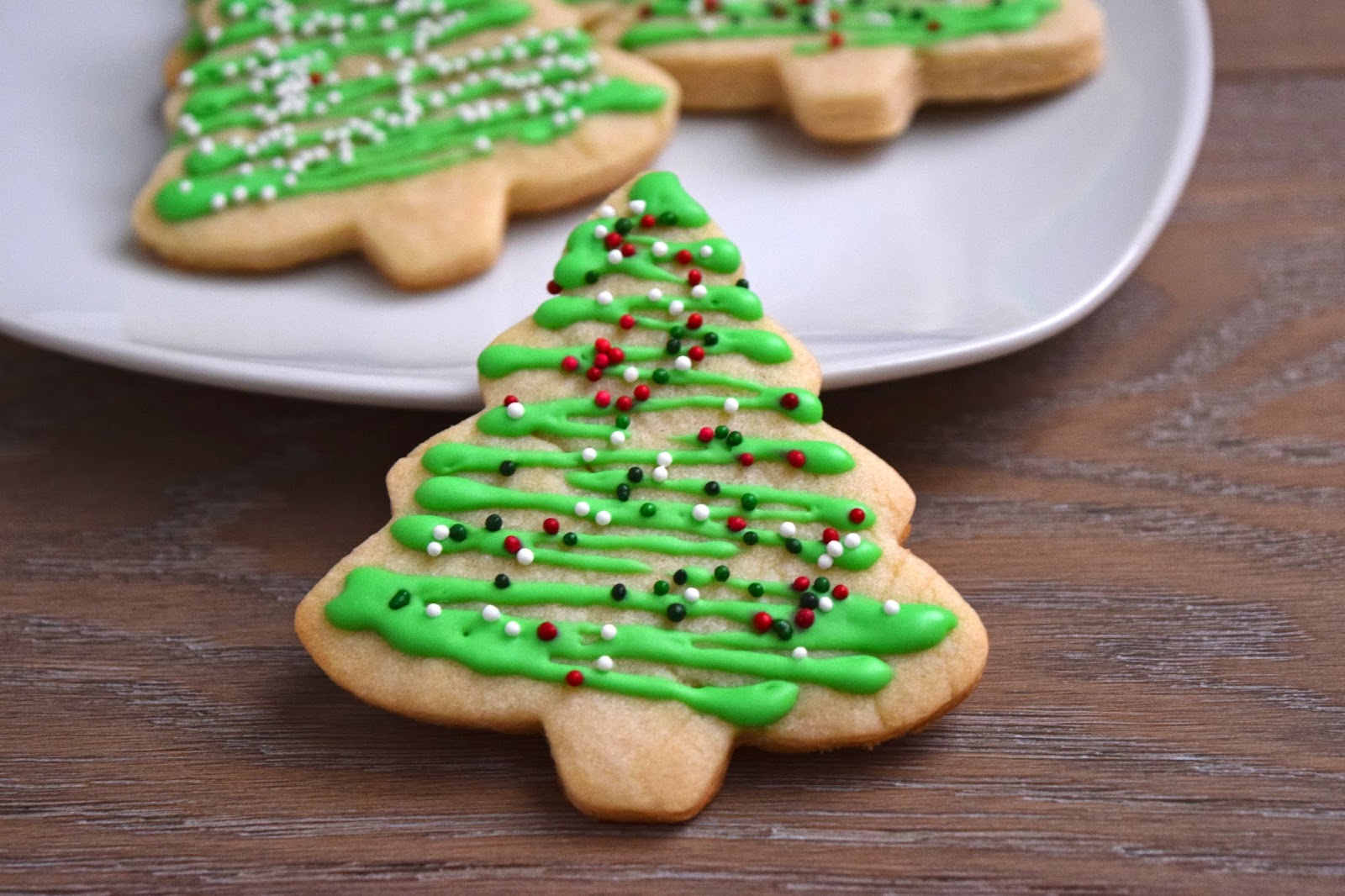 Goddess Of Baking Christmas Cut Out Sugar Cookies