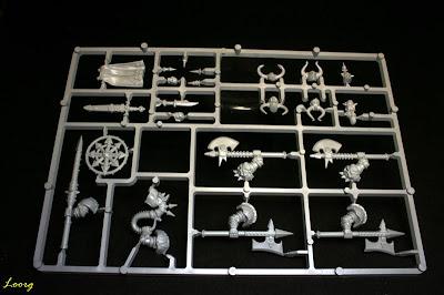 Matriz especial de la caja de Regimiento del Caos