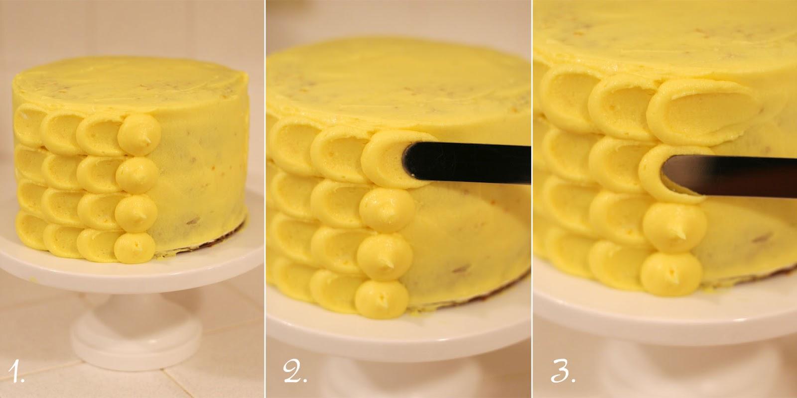 pretty spring cake vanilla cake with lemon filling. Black Bedroom Furniture Sets. Home Design Ideas