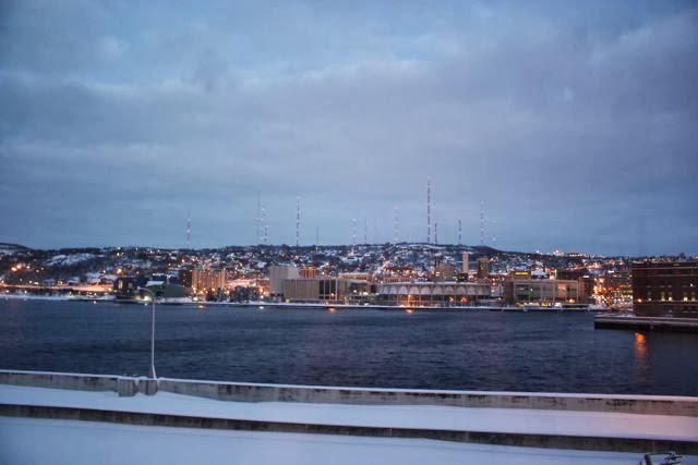 Evening at Duluth Harbor