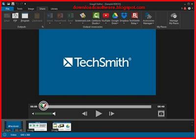 Crack TechSmith SnagIt 12.4.1