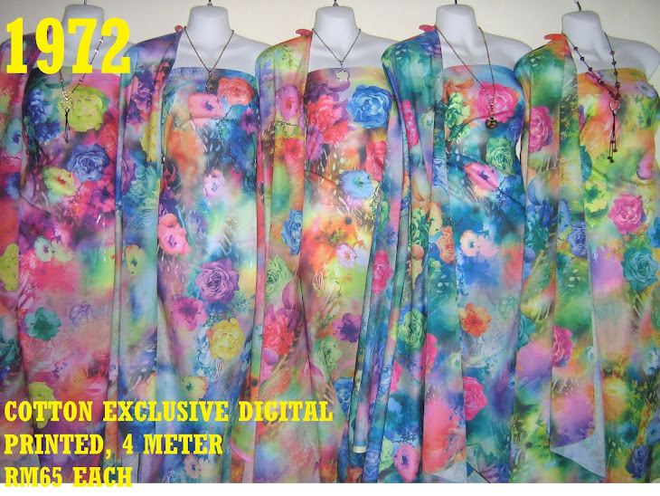 CDP 1972: COTTON EXCLUSIVE DIGITAL PRINTED, 4 METER