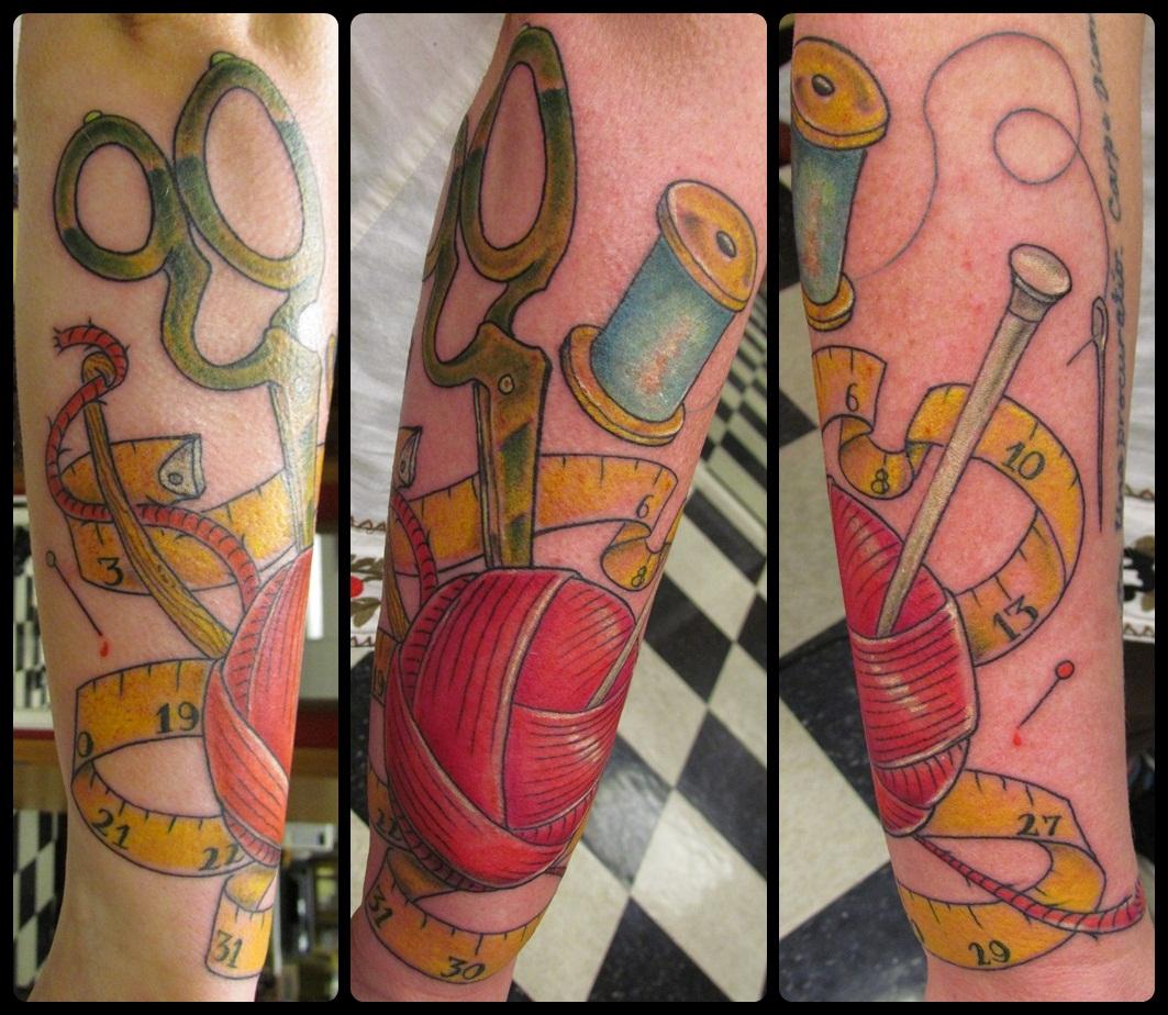 Tattoo knitting patterns baby