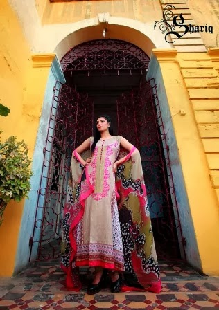 Long Lawn Dresses Designs