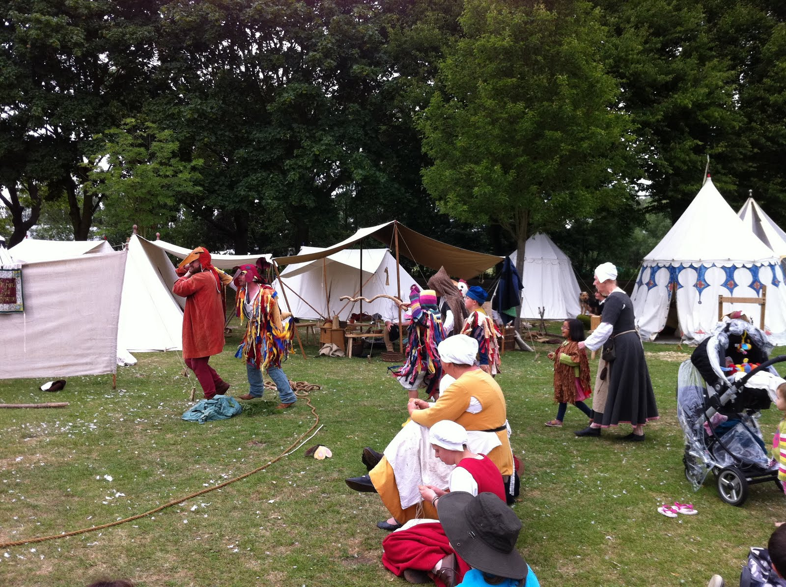 The diary of an itinerant story teller arundel castle and for The chanticleer