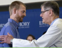 Los dos estadounidenses repatriados de Liberia superan el ébola