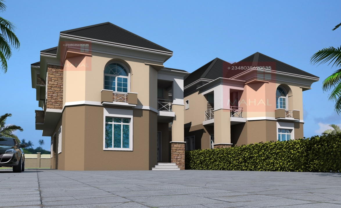 Contemporary nigerian 4bedrooom bungalows joy studio for Best modern residential architects