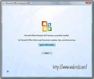 Cara Menginstal Microsoft Office Enterprise 2007