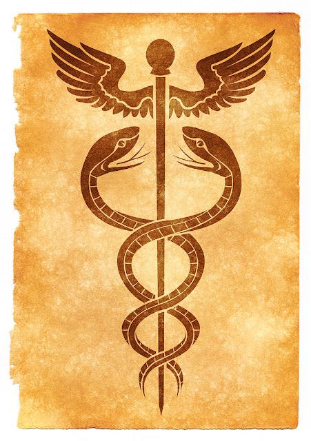 Hermes, Mercury. Medicine