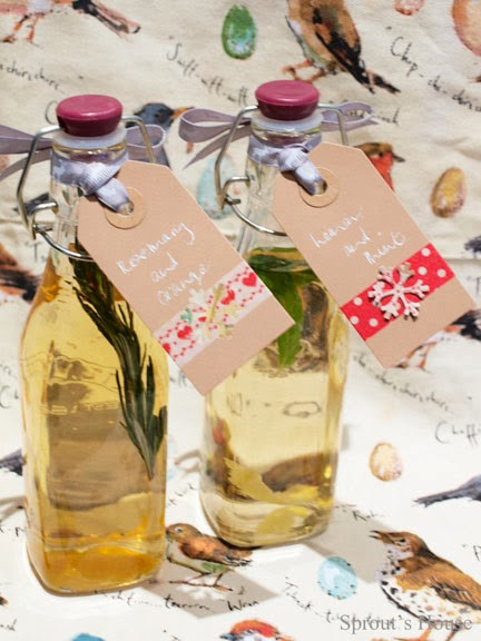 Flavoured Vinegars Sprout's House