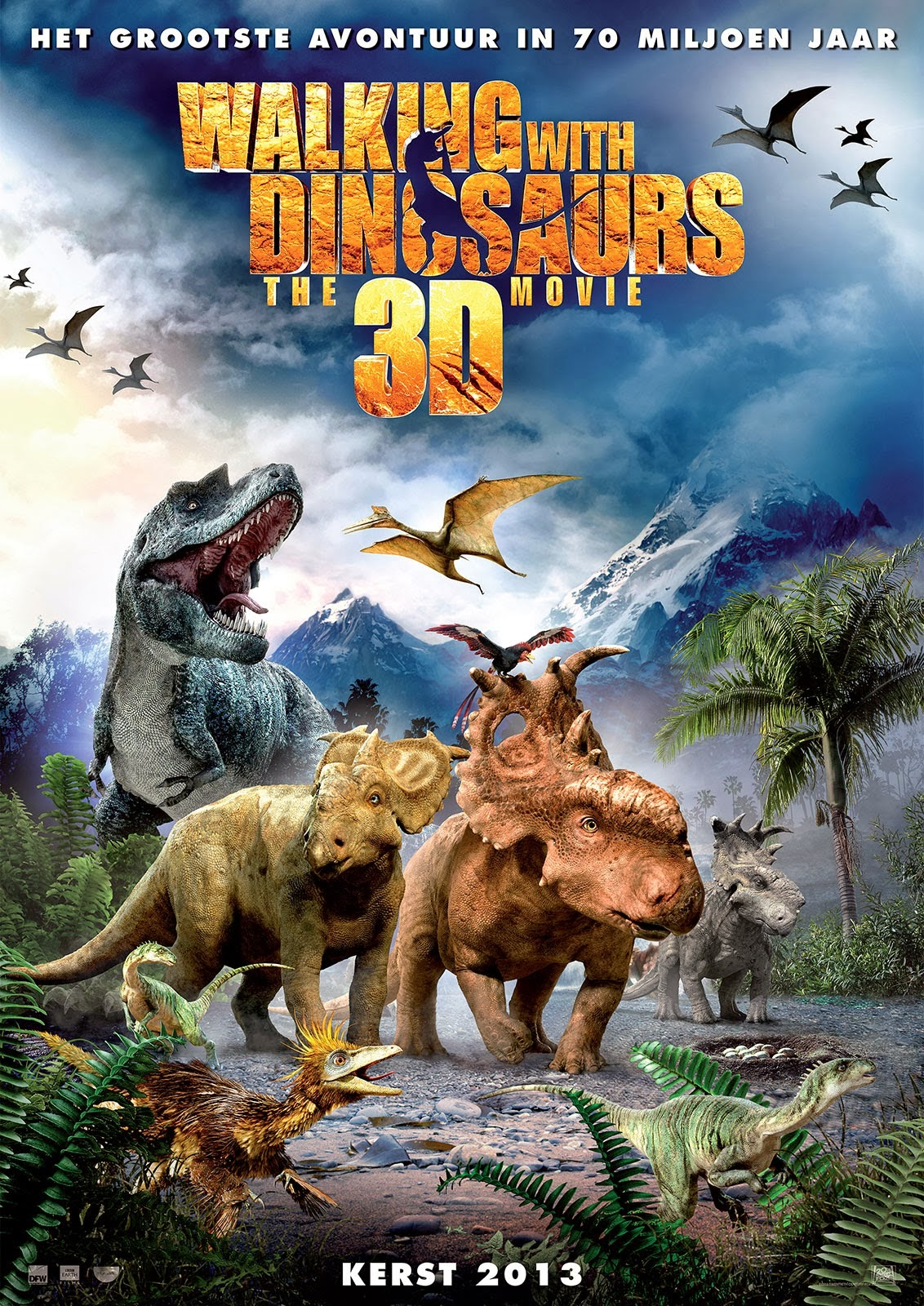 Watch Walking with Dinosaurs 3D (2013) Online For Free Full Movie English Stream